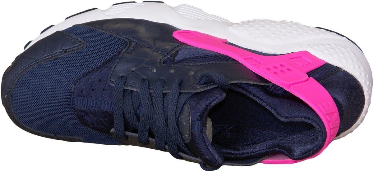 Nike Huarache Run 654280-406, Femmes, Bleu, Baskets Taille 36 Eu