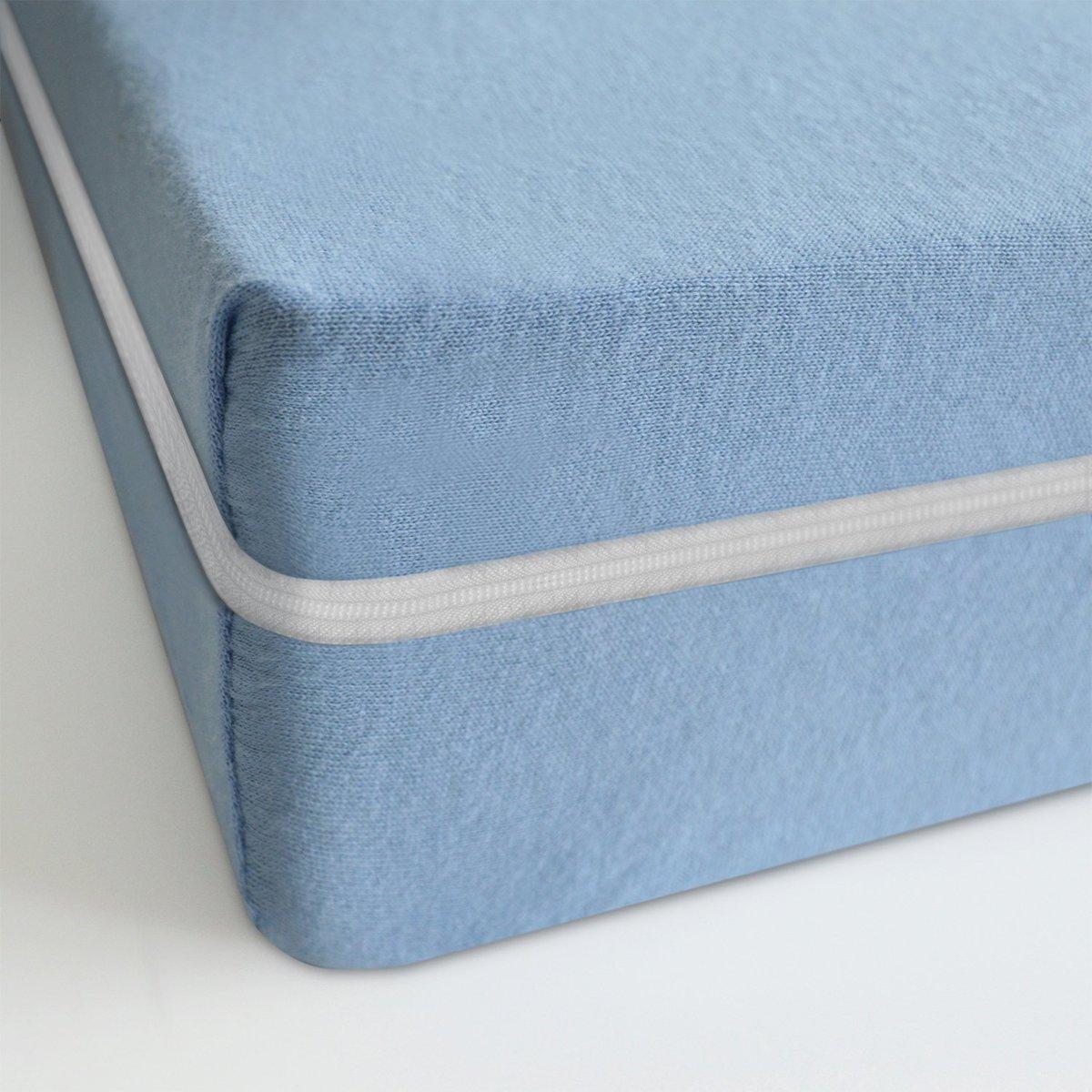 Matras - 140x200 - comfortschuim - goedkope matras - blauw