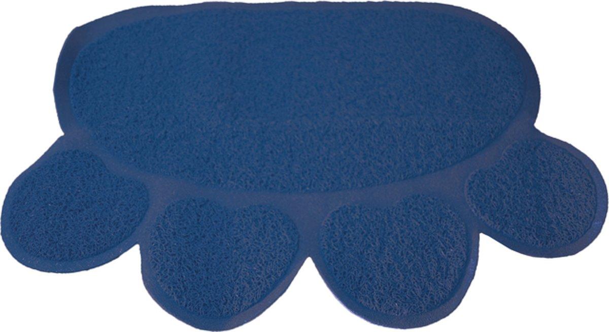 Uitloopmat Poot 60X45Cm Donkerblauw kopen