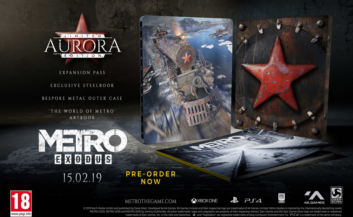 Metro Exodus Aurora Limited Edition PlayStation 4