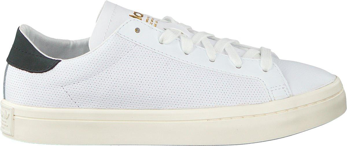 bol.com | Adidas Dames Sneakers Courtvantage Woman - Wit ...