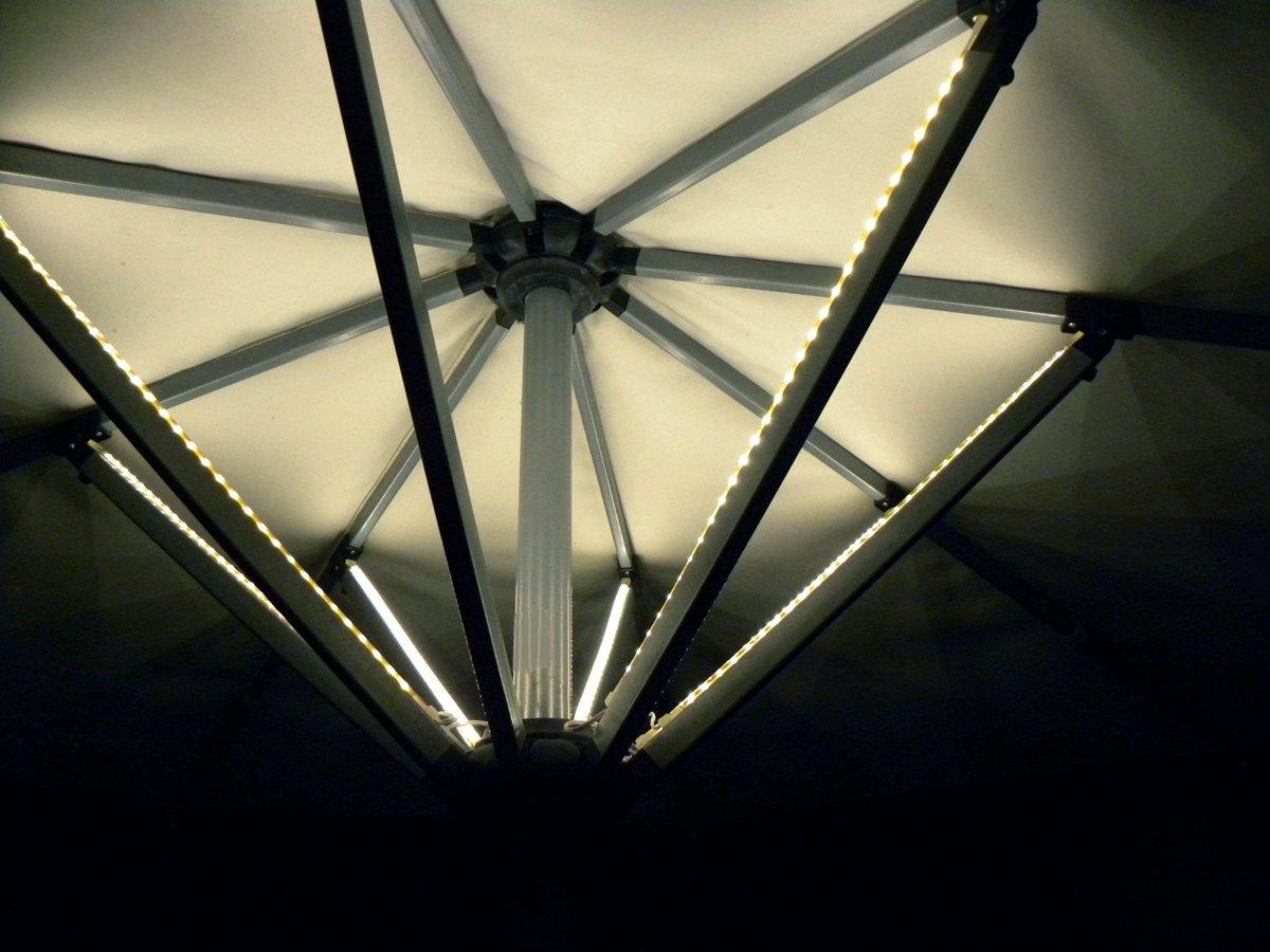 bol.com | LED PARASOLVERLICHTING 8X40CM MET TRANSFO
