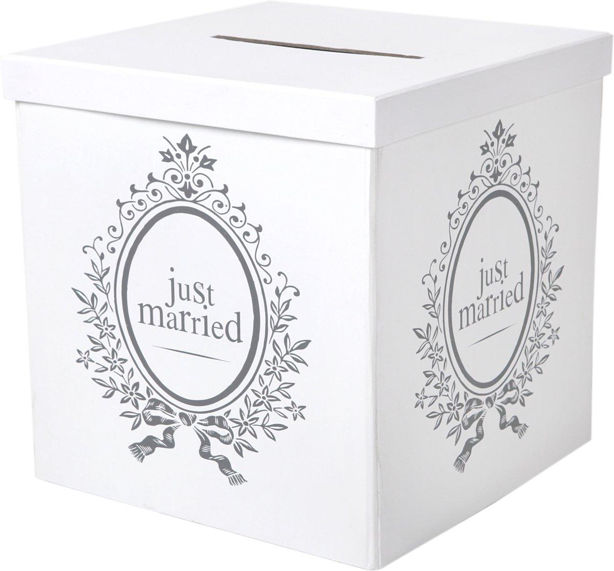 Santex Enveloppendoos Just Married - karton kopen