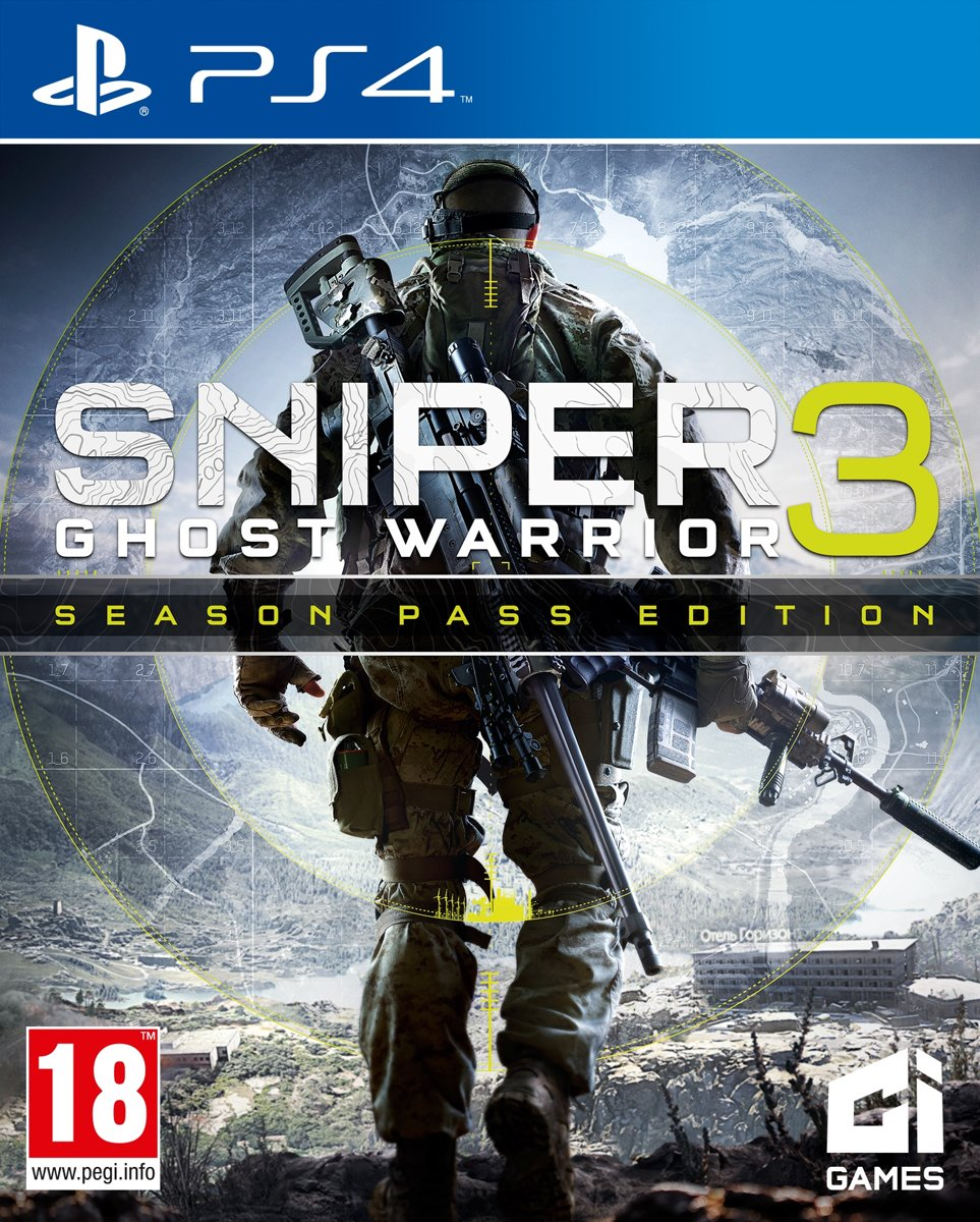 Sniper Ghost Warrior 3: Limited Edition PlayStation 4