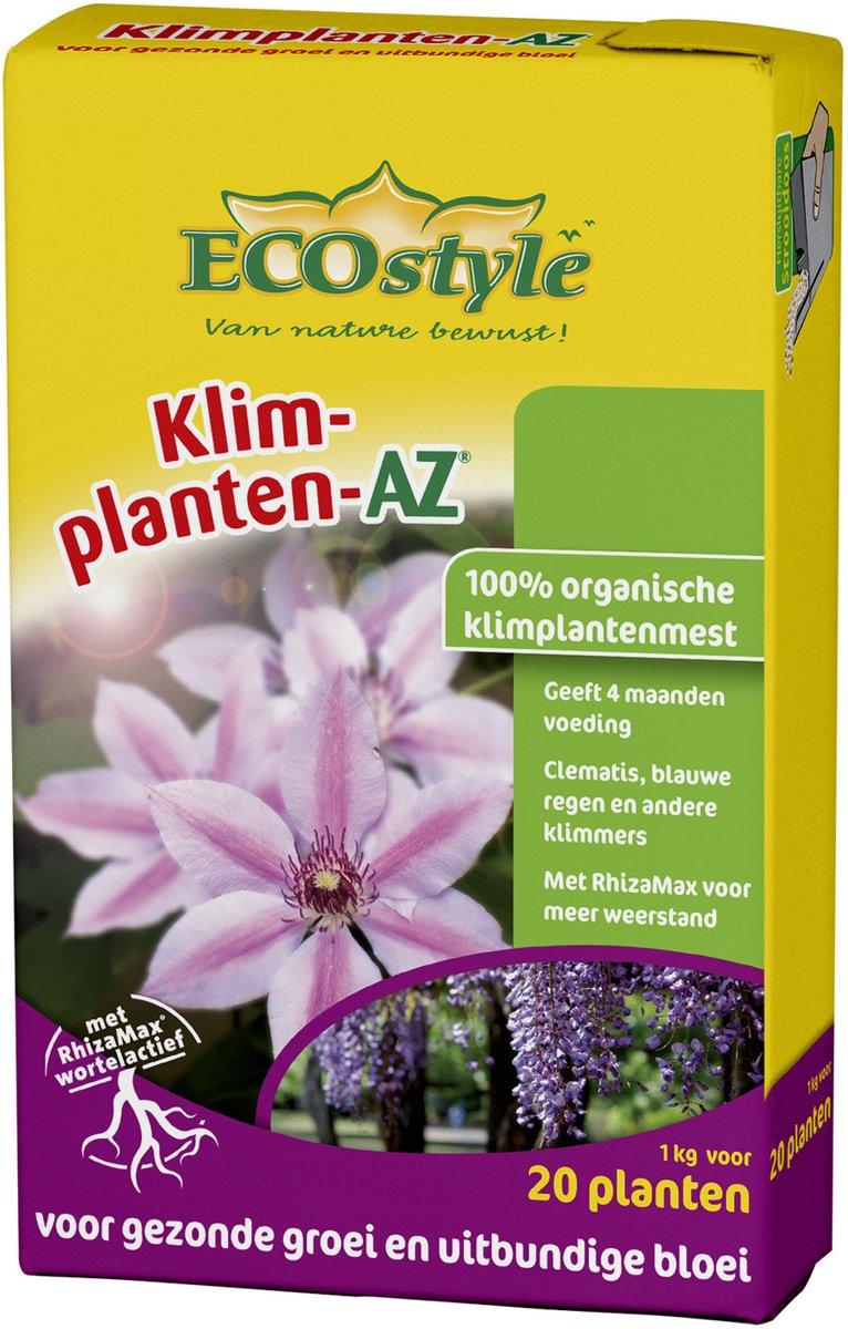 ECOstyle Klimplanten-AZ - 1 kg - organische klimplantenmest - voor 20 planten