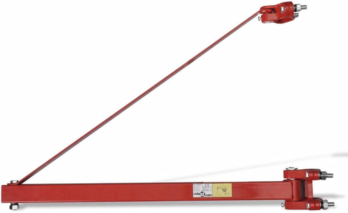 Zwenkarm voor lier (600 kg)