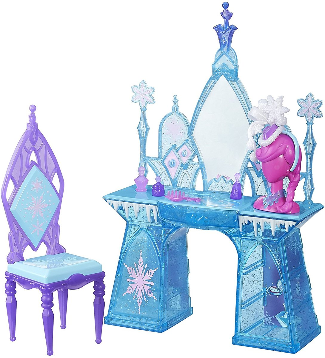 Meubelset van FROZEN Disney Snow Glimmer Vanity Set
