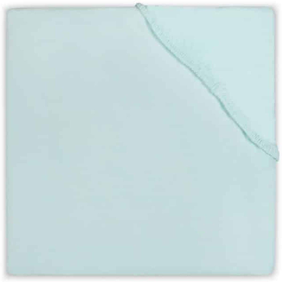 Jollein - Ledikant Hoeslaken Jersey 60x120 cm - Jade