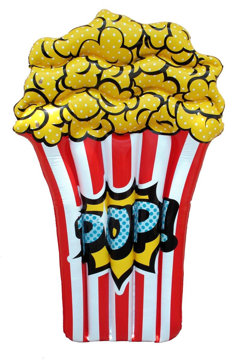 Retr-Oh! Popcorn Lounge 150 cm  - Opblaasfiguur