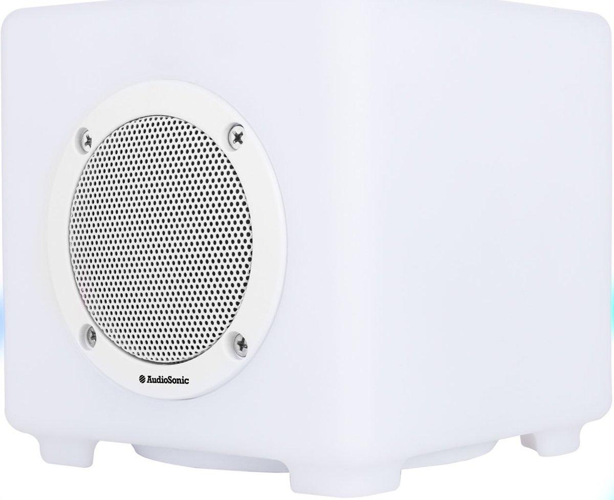 AudioSonic SK-1539 - Wit Bluetooth speaker kopen