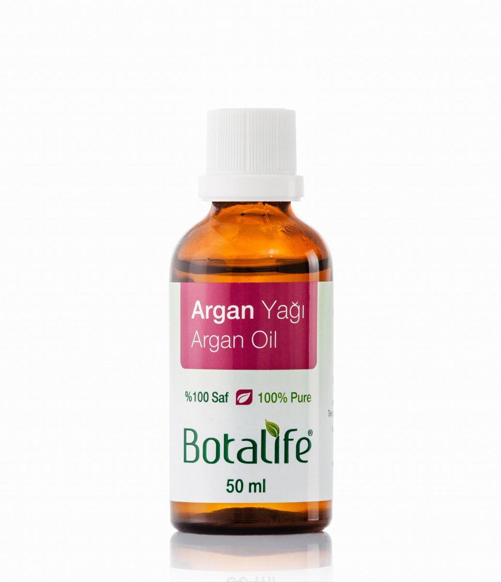 Foto van Botalife - Argan olie 50 ml - 100% natuurlijk & koud geperst - Geen toegevoegde geuren!