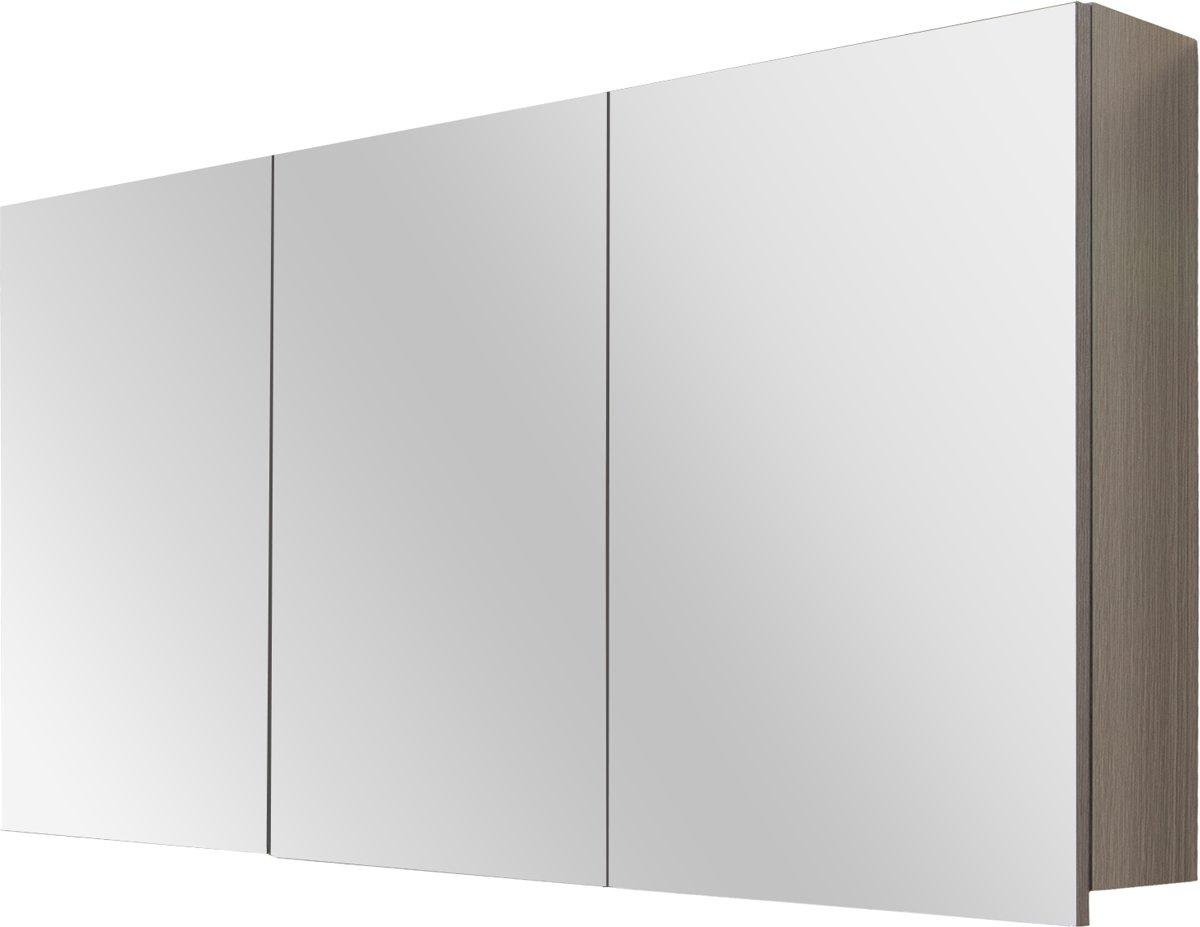 Badkamerkast Grijs Eiken : ≥ badkamer kast houten kast badkamerkast hoog montreal zijkast