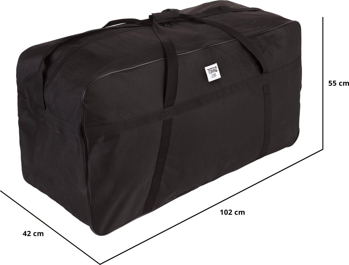 7fb4a8703e1 TravelZ Grote tas - Lichte XXXL Allround Sporttas 235 liter - 102 x 42 x  55cm