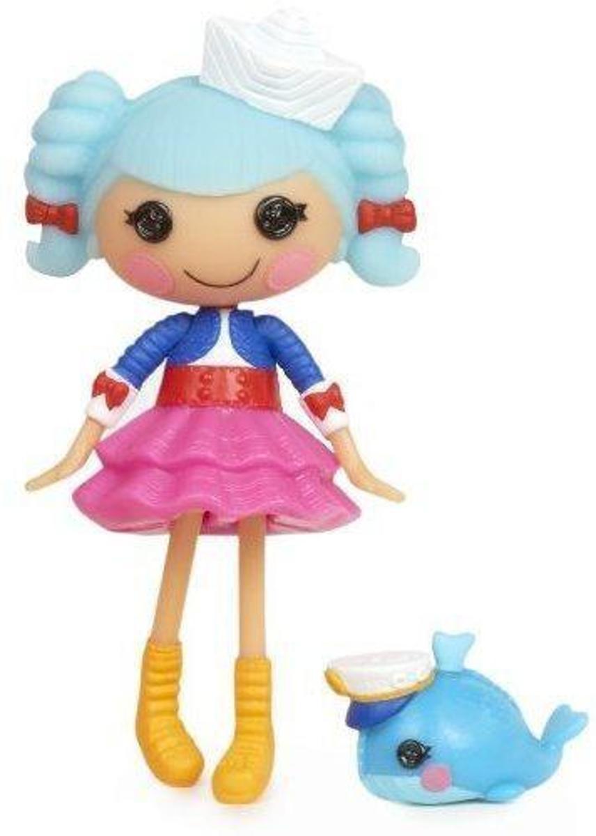 Lalaloopsy mini pop Marina Anchors met huisdier blauw