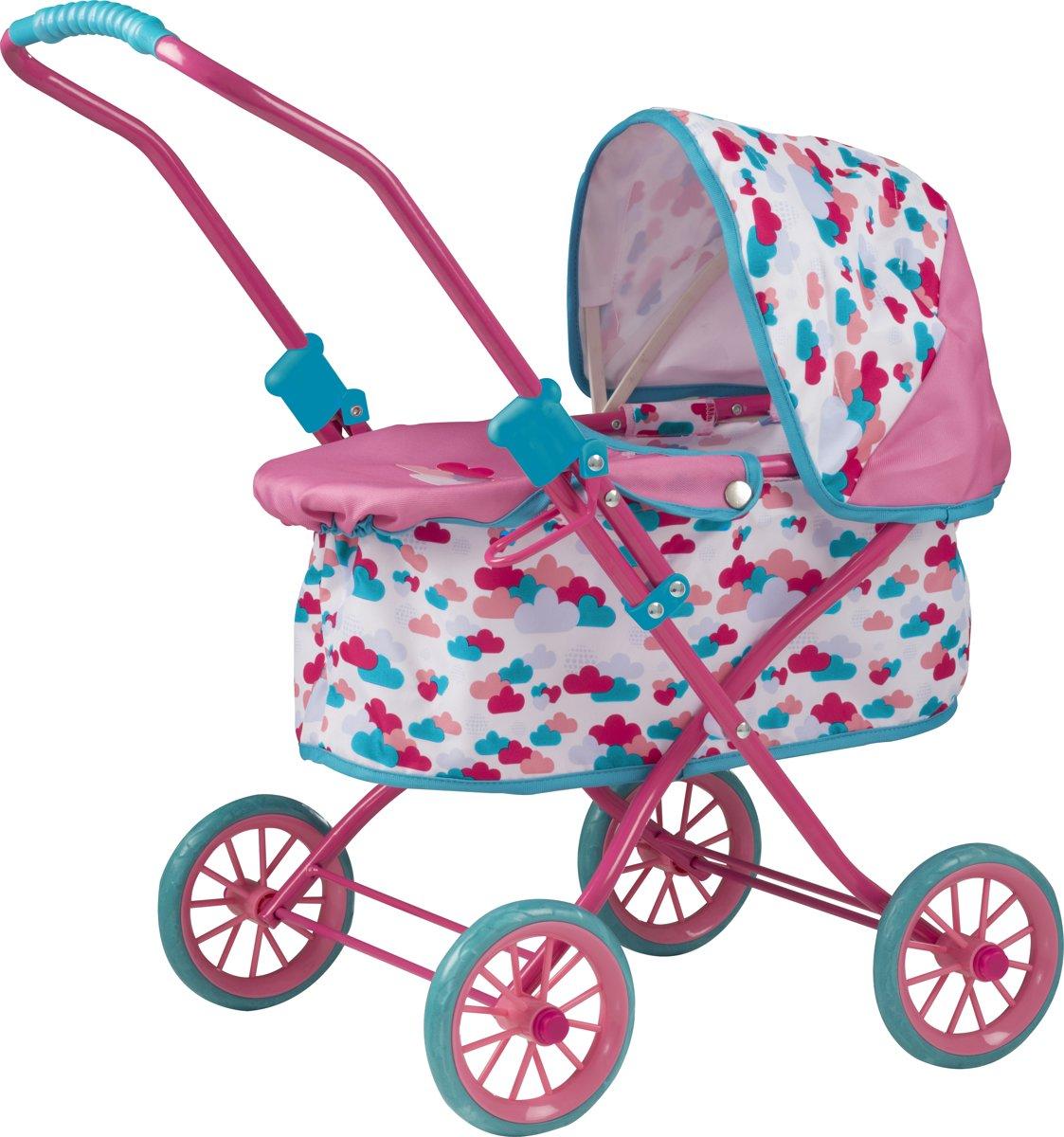 Baby Born Poppenwagen Met Kap