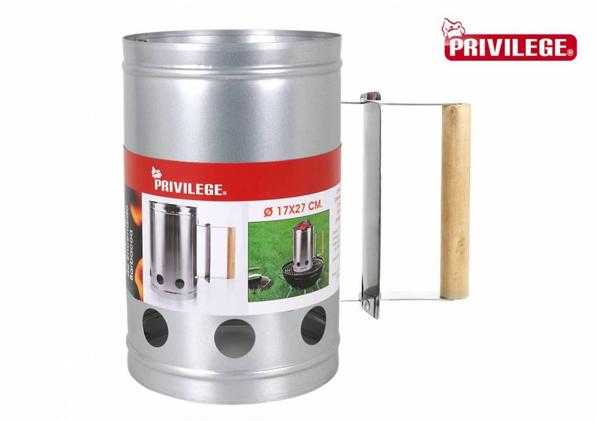 Privilege Barbecue starter - houtskool starter - metaal - 27x17cm kopen