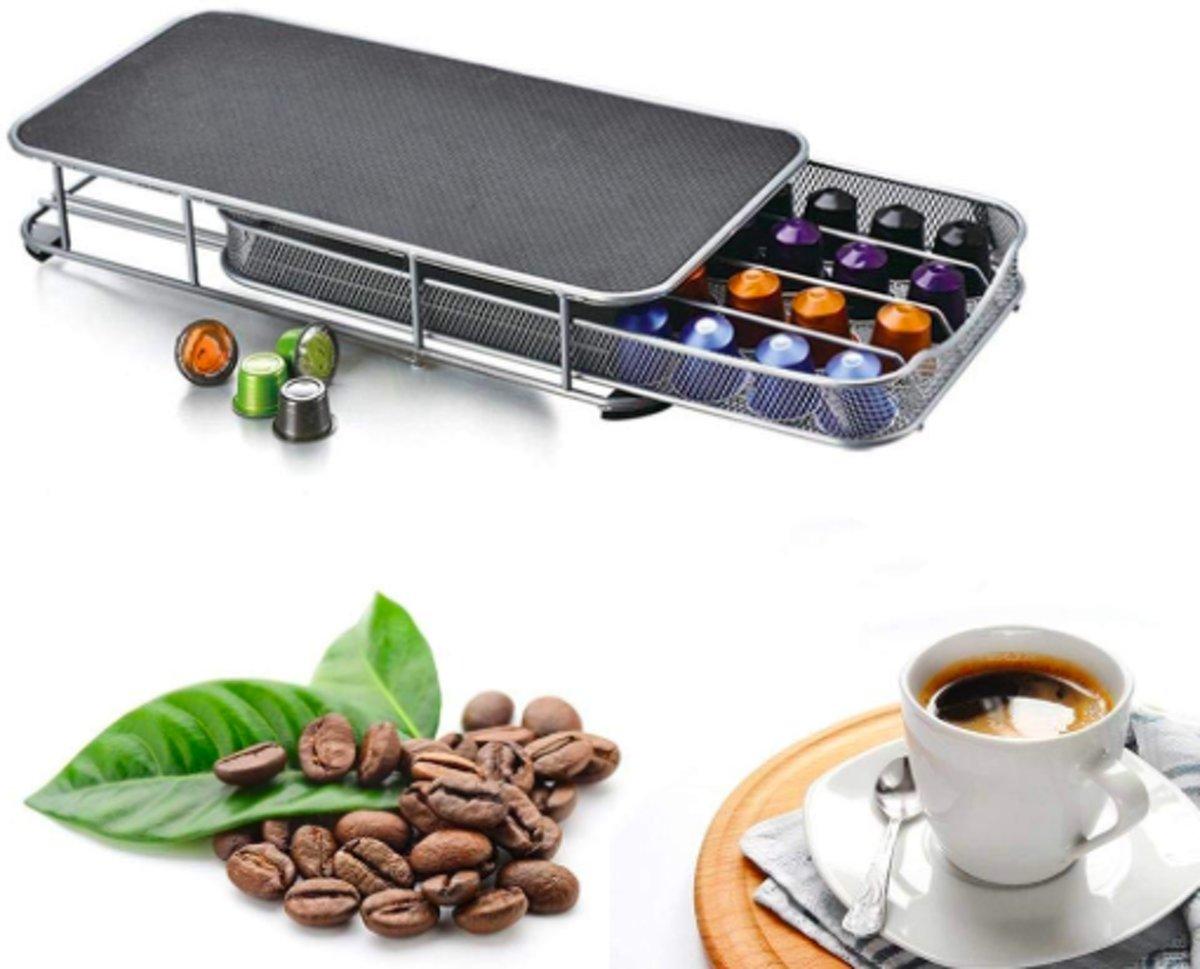 Koffie Capsulehouder Standaard voor Koffiemachine – Cuphouder Dispenser 40 Capsules kopen
