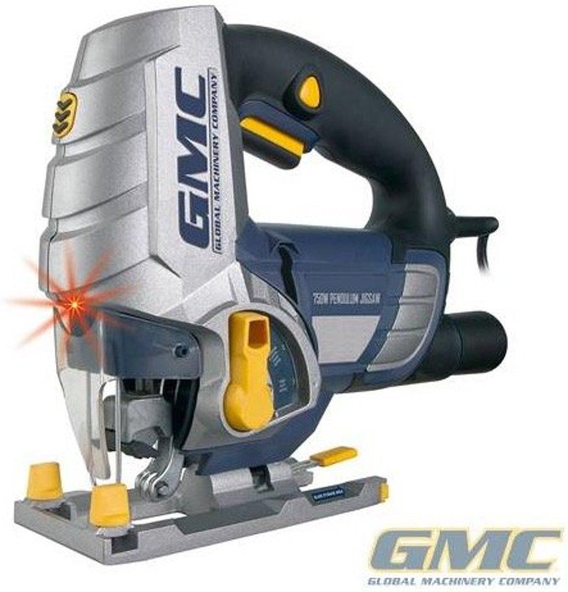 GMC Decoupeerzaag met laser 750 W