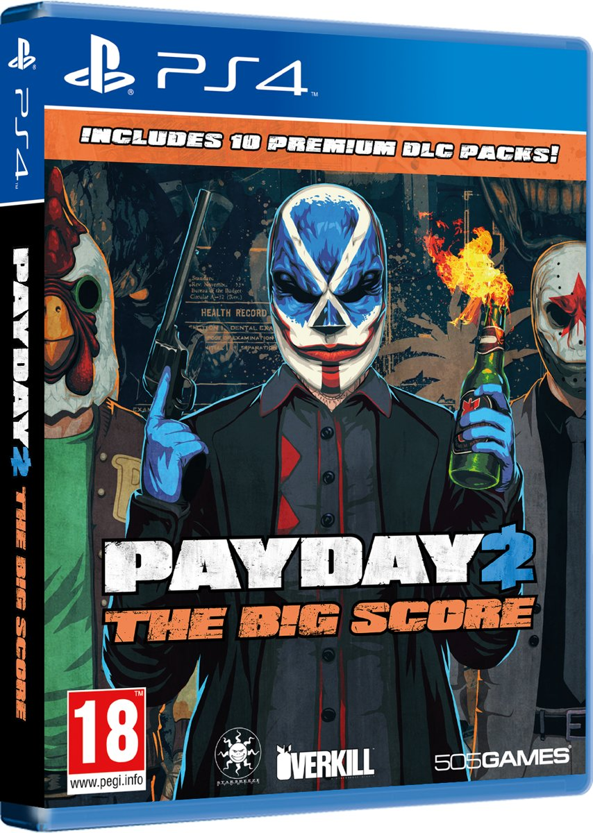 Payday 2: The Big Score PlayStation 4