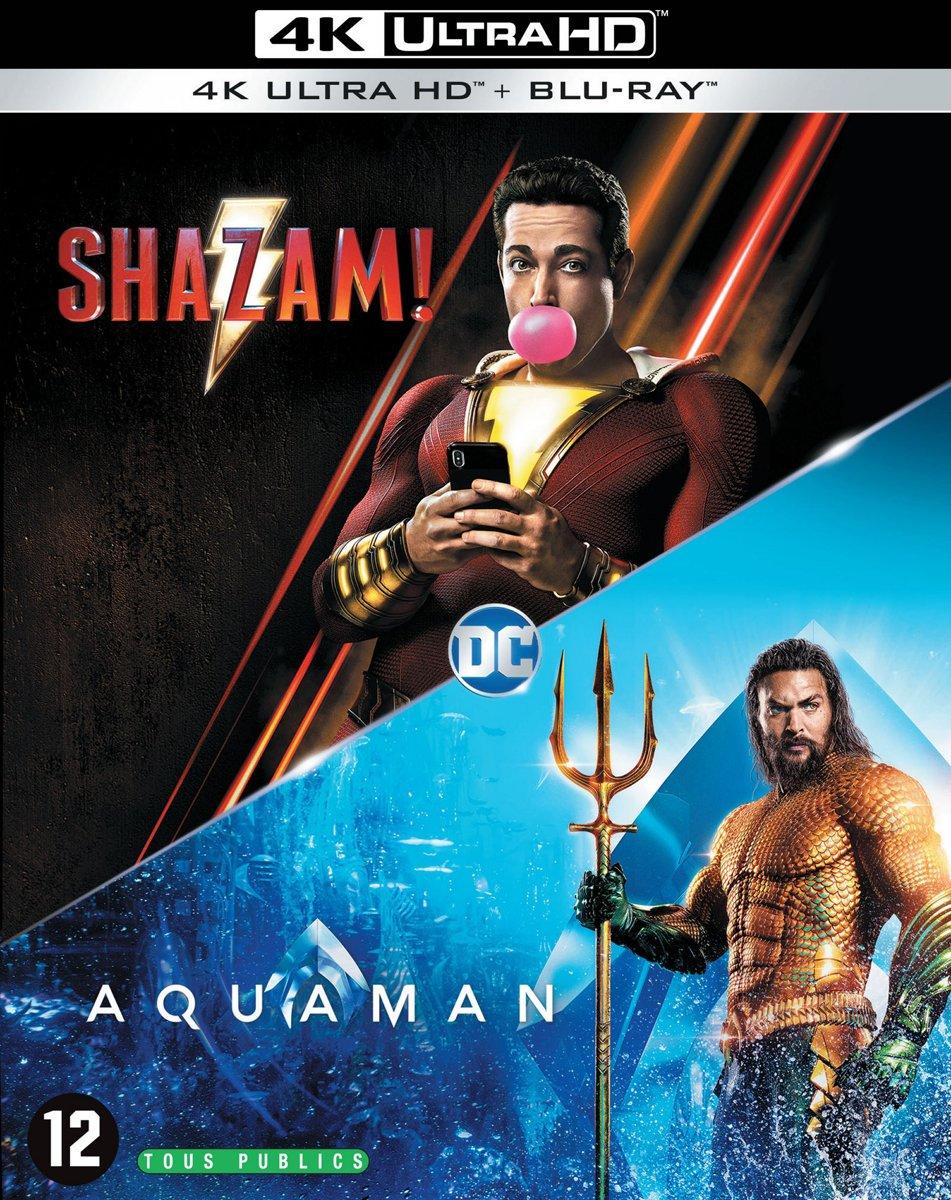 Aquaman & Shazam! (4K Ultra HD Blu-ray)-