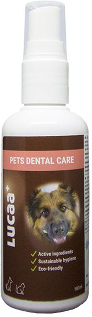 LUCAA+ PETS DENTAL CARE 100ML | TEETH HYGIENE WITH PROBIOTICS | 100% BIO | 100% VEGAN | 100 % NATURAL kopen