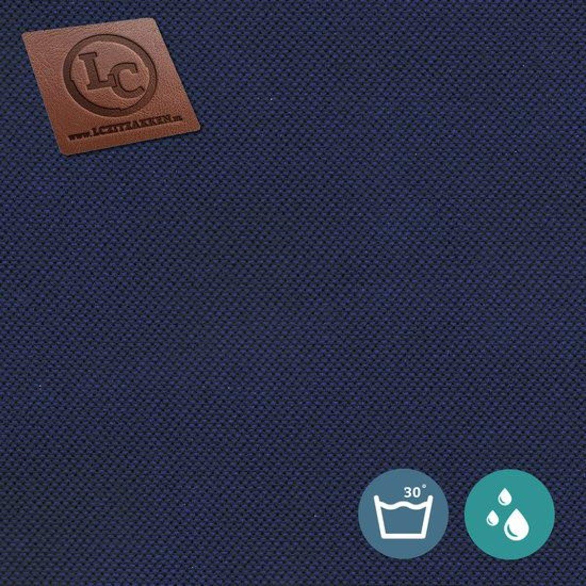 LC Zitzak hoes Barça outdoor marineblauw - Wasbaar - Geschikt voor buiten kopen