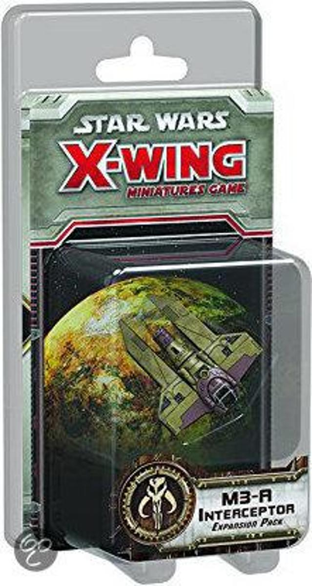 Star Wars X-wing M3-A Interceptor Expansion Pack - Uitbreiding - Bordspel