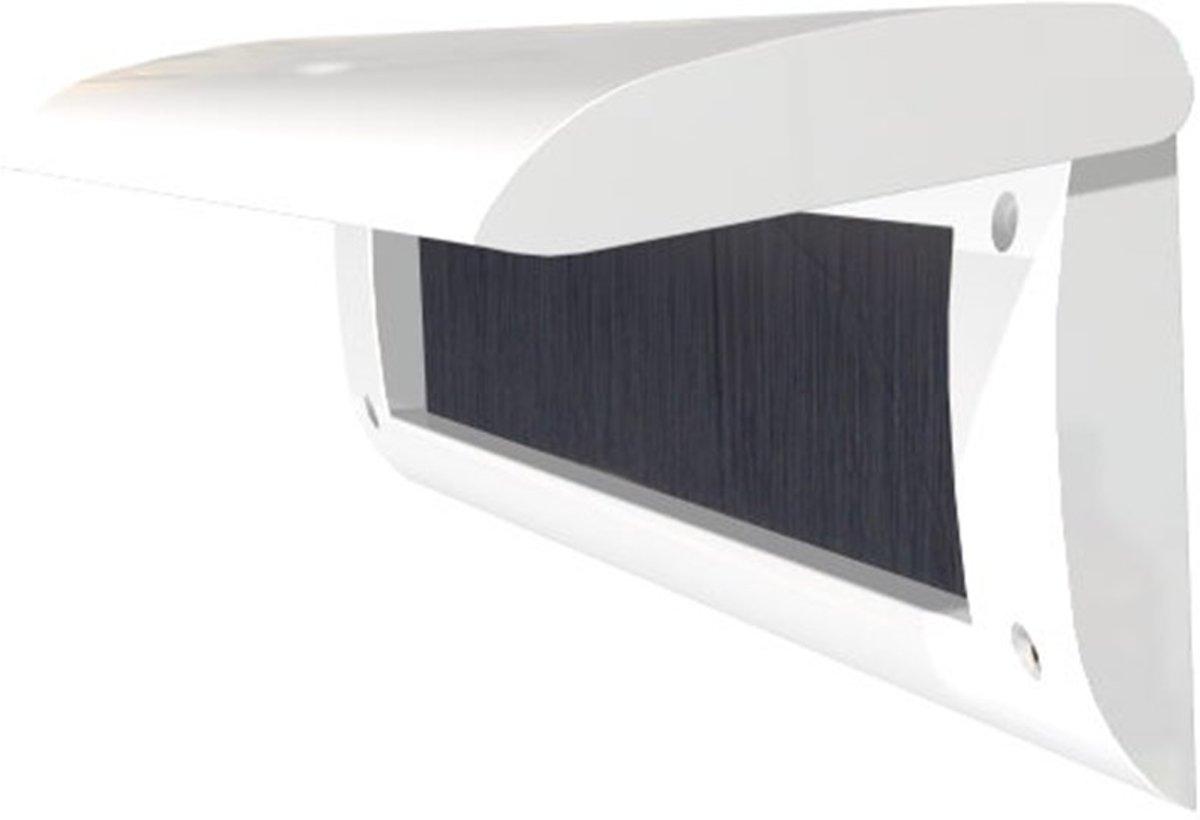 Door-Line basic binnenbriefplaat kunststof Ral9001 wit