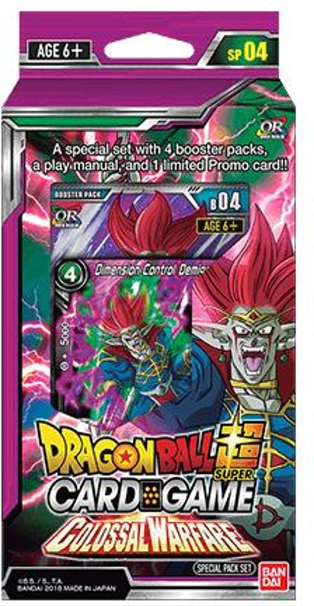 Dragon Ball Scg Colossal Warfare Boosterset B04 (en)