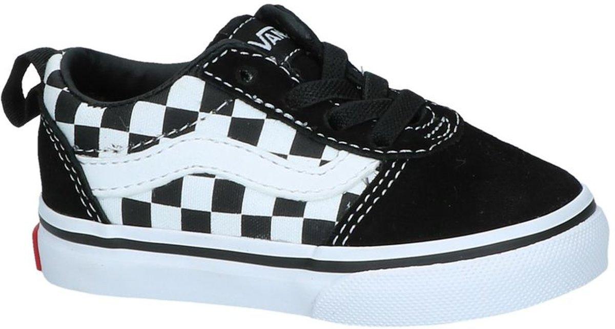 6109a10e6b8 bol.com | Vans Ward Slip-On Sneakers Kids Unisex - maat 26 - (Checkered)  Black/True White