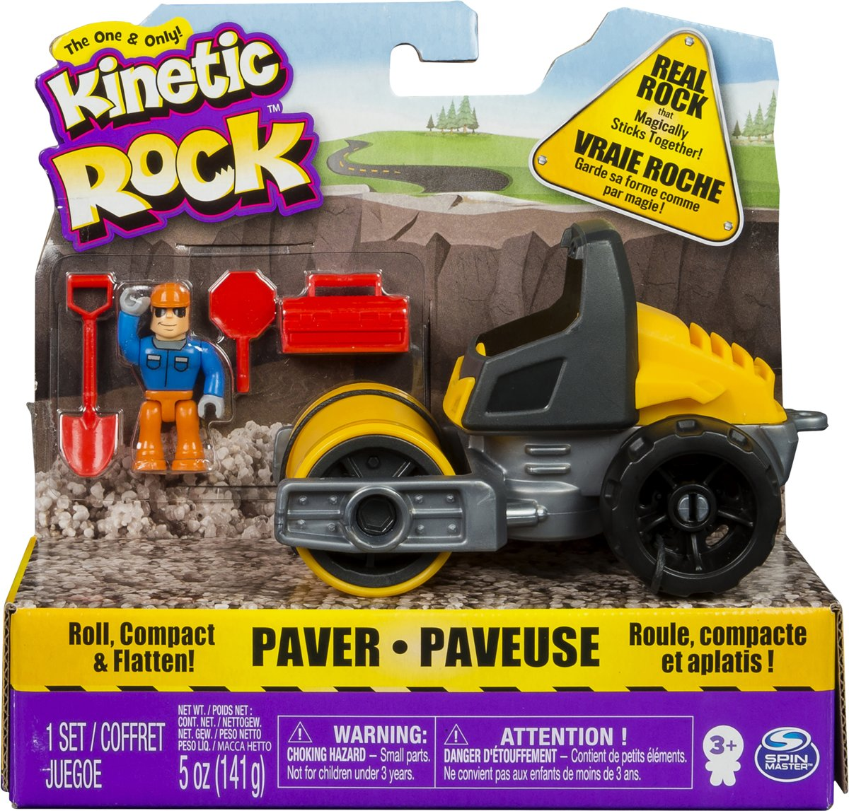 Kinetic Rock Vehicle Paver