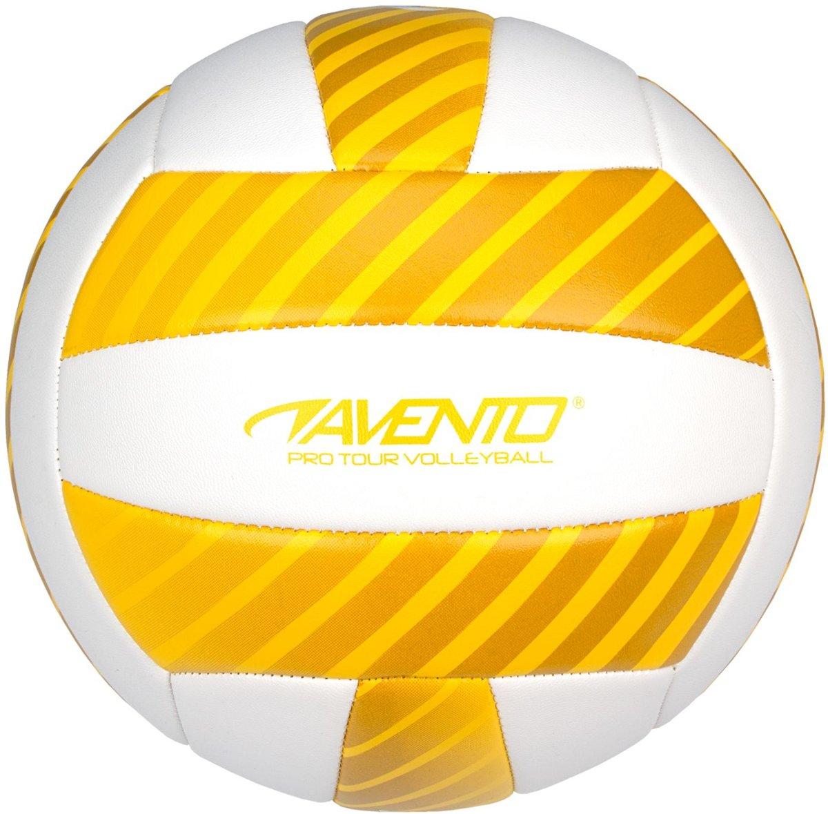 Avento Volleybal - Kunstleder - Geel/Wit