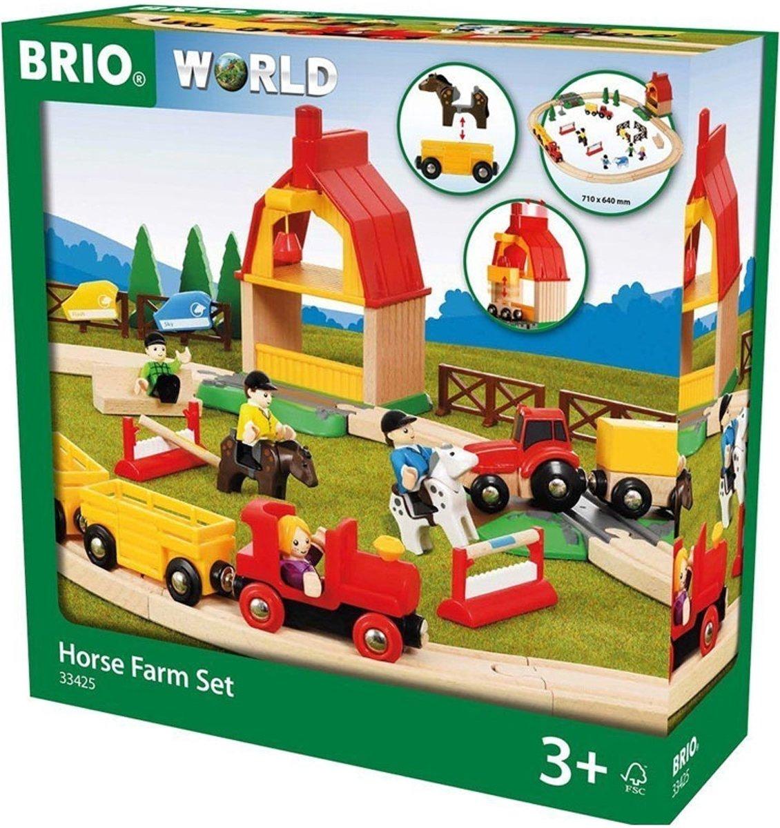 Brio 33425 houten treinbaan boerderij