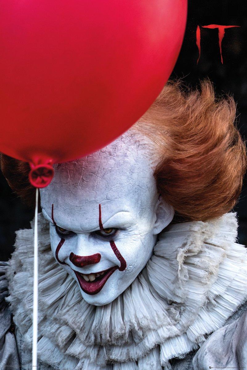 It-film-poster-Clown-Chapter 1-Horror-Stephen King-61x91.5cm. kopen
