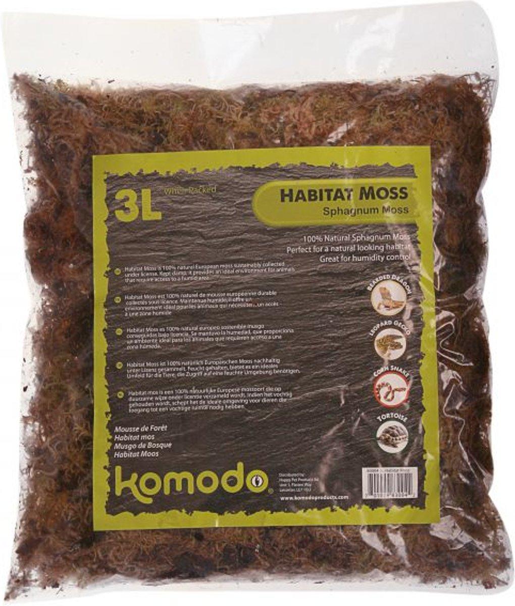 Komodo Habitat Mos - 3 l