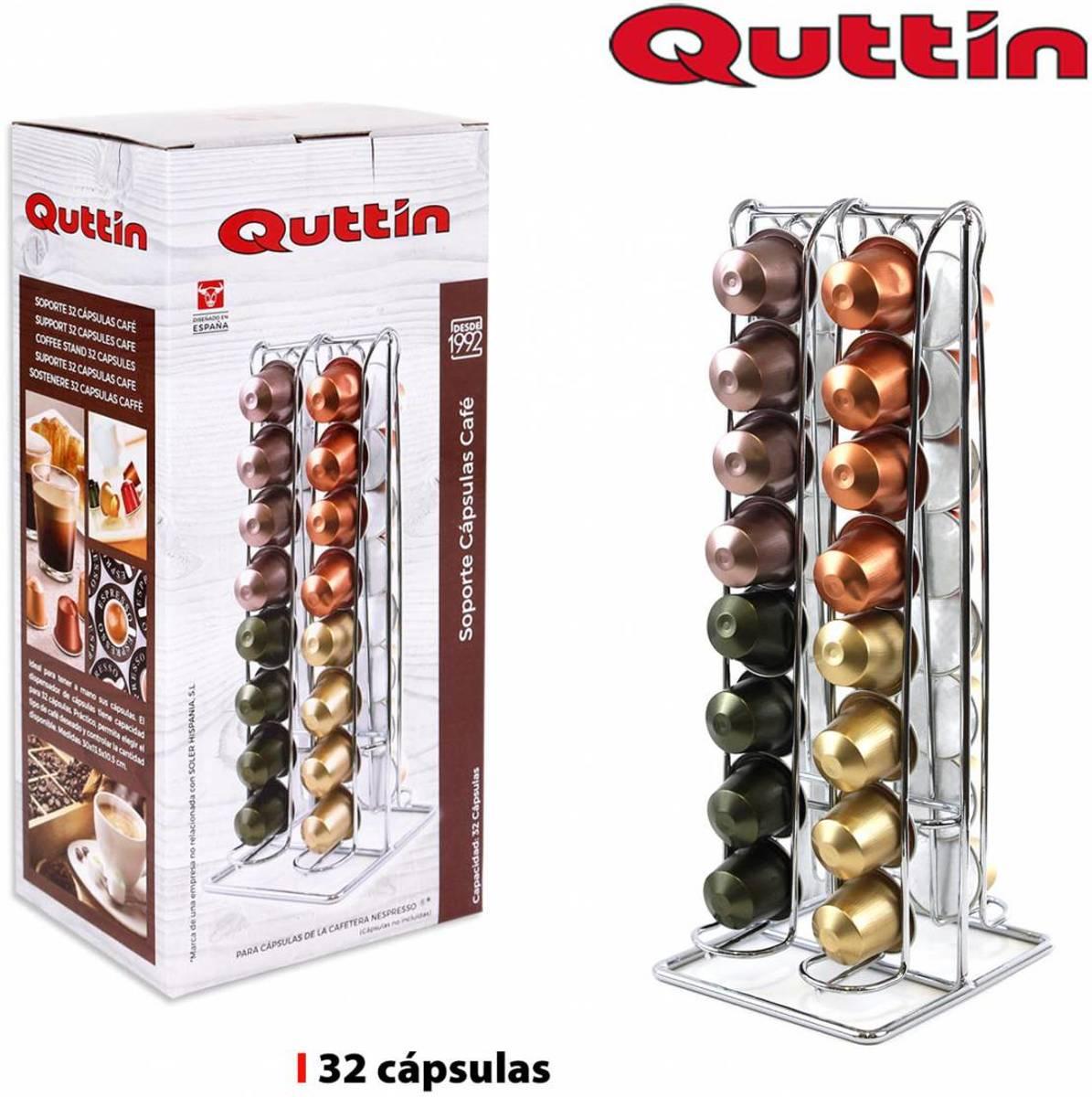 Quttin Capsulehouder - Houder voor 32 koffiecapsules kopen