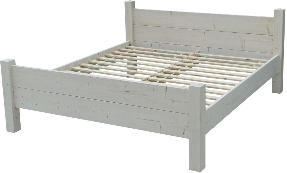 Bol persoons bed landelijk houten bed