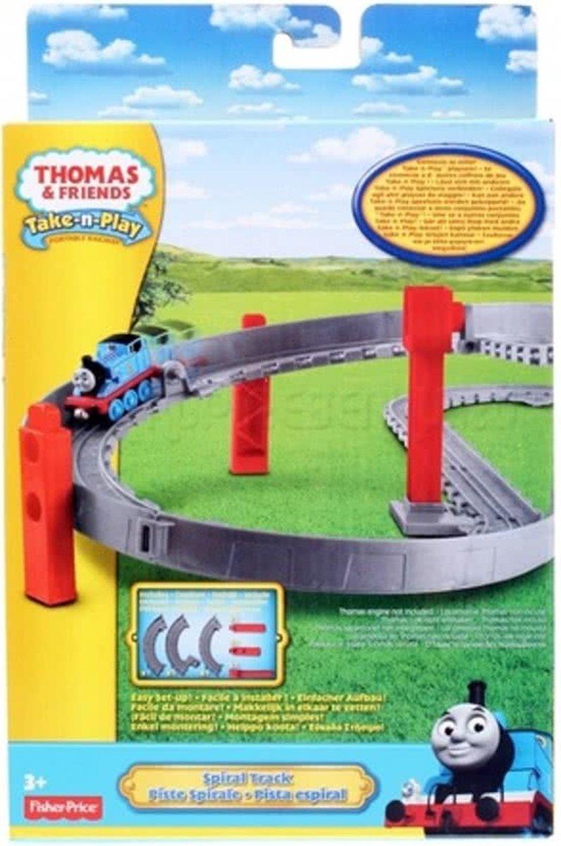 Thomas de Trein  take-n-play uitbreidingsset rails stijgende bocht