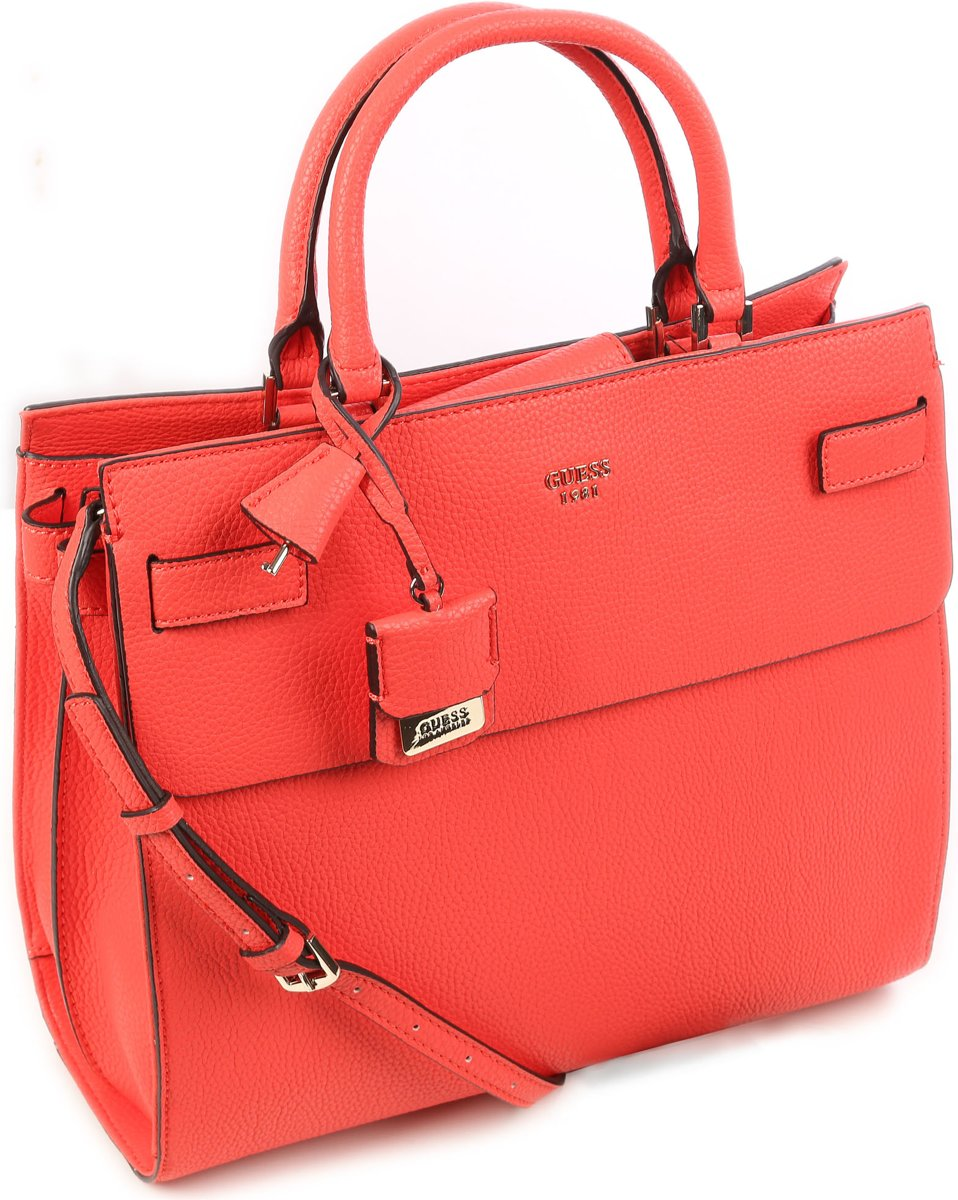 | Guess Cate large Handtas Rood