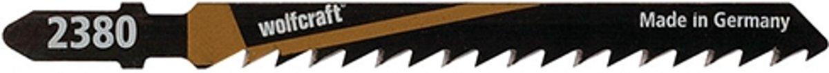 Decoupeerzaagblad hout T-schacht