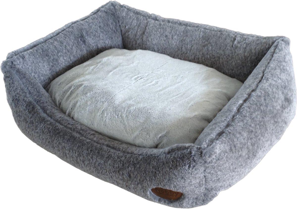 Nobby - katten - mand - vierkant - licht grijs 45 X 40 X 19 CM