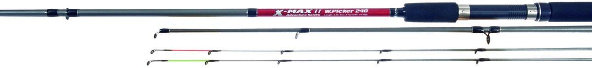 X-Max Winkle Picker - 240 cm - 10 - 40 gram - inclusief 2 Tips - 2-delig