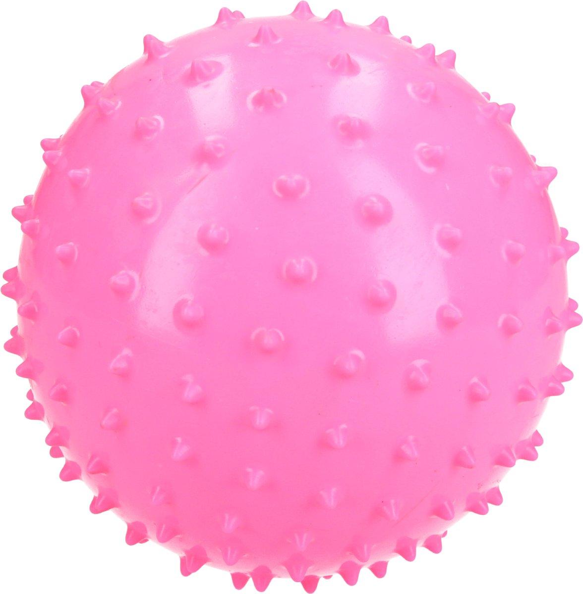 BDO Massagebal – 15cm – Ideaal voor Binnen – Speelbal Educatief Stevig – Klein Formaat – Roze