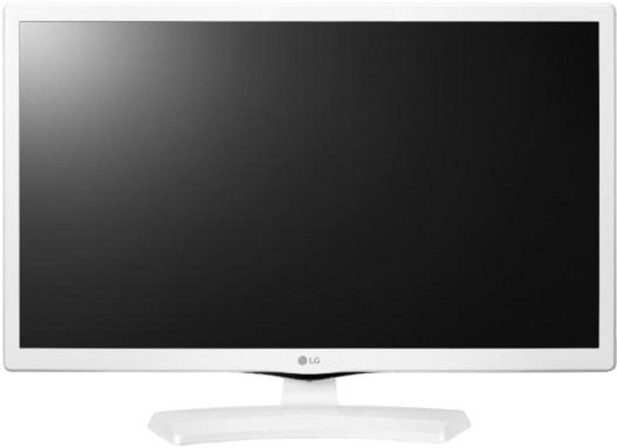 LG 24MT41DW-WZ 24'' HD Wit computer monitor LED display