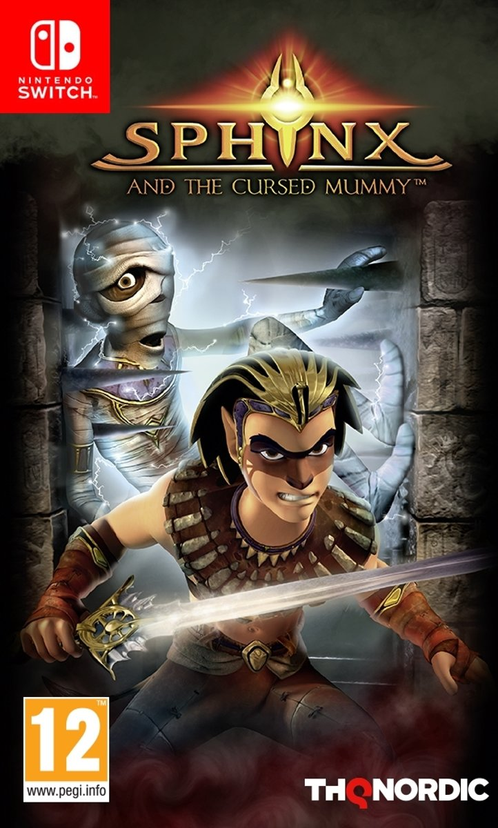 Sphinx and the Cursed Mummy Switch