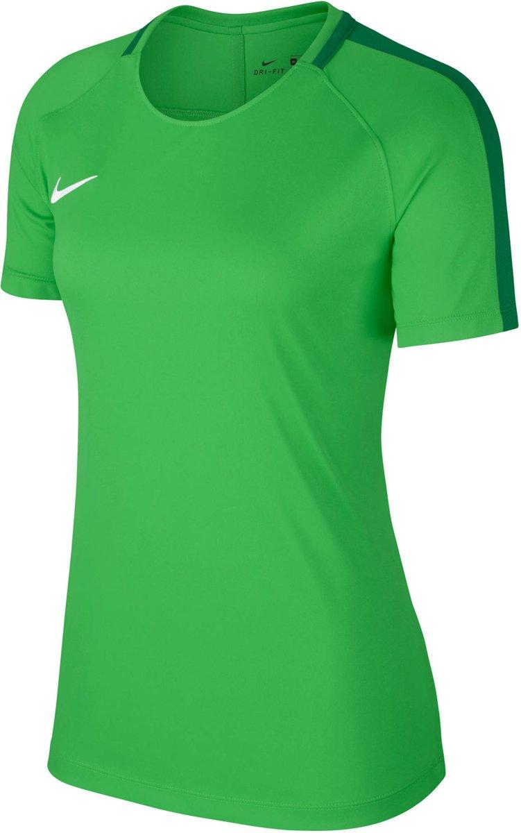 Nike Dry Academy 18 Sportshirt Dames groen