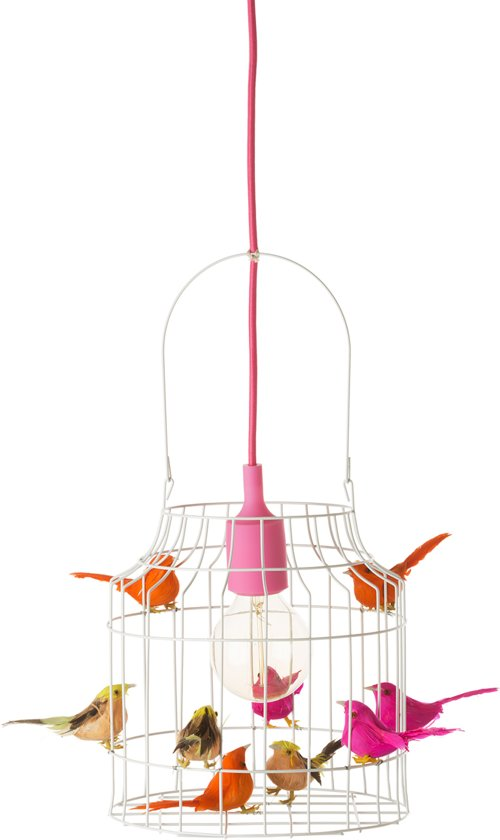 Roze Hanglamp Babykamer.Hanglamp Kinderkamer Roze Wit Neon Babykamer
