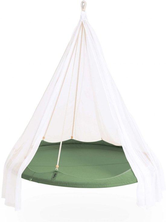 TiiPii bed hangmat - groen150 cm