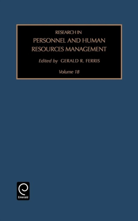 research in personnel and human resource management