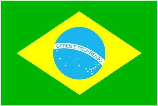 bol | vlag brazilie 90 x 150 cm